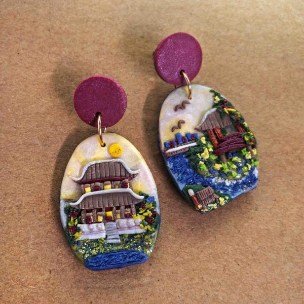 South Korea Polymer Clay Earrings